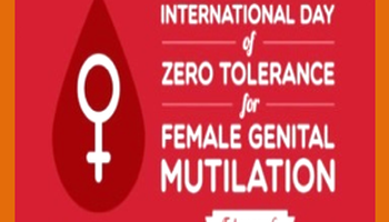 16 Days Campaign 2020 - Day 2<br>Elimination of Female Genital Mutilation (FGM)