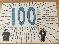 Happy 100th Birthday Salesian Sisters from all in Mary Queen of Ireland